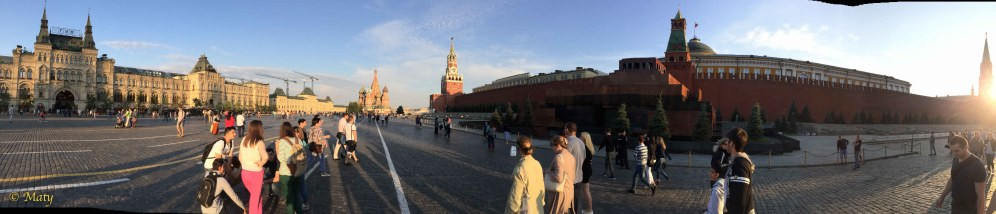 Panorama of Red Squre