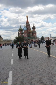 Peacekeepers in Moscow!