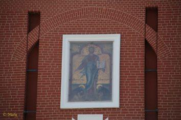 Painting on Spasskaya Tower