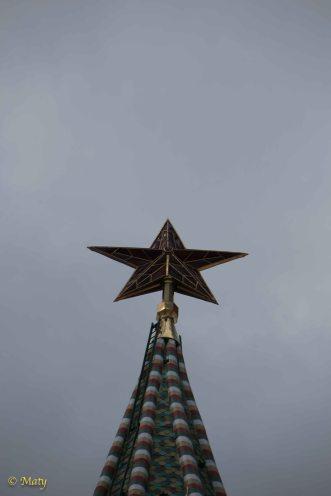 Red Star on Kremlin
