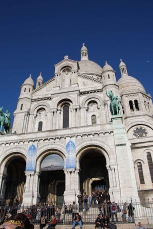 Sacre Coeur from up close