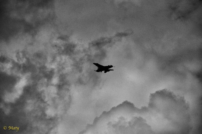 F-18 Hornet going for landing
