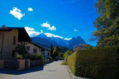 Garmisch with look at Zugspitze!