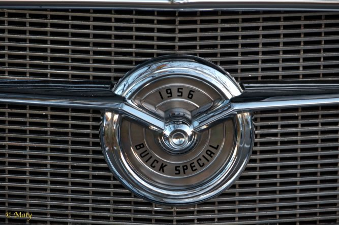 1956 Buick Special - front grille