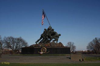 Marine Corps War Memorial, Arlington VA