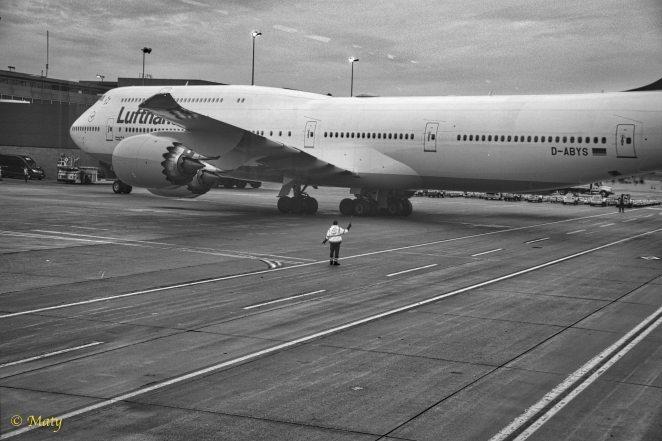 Size of the plane is amaizing