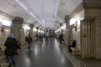 Another take on the Smolenskaya Metro station
