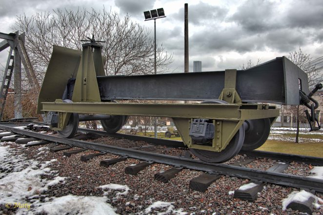 "German ""track destroyer"" - it was used to rip the railroad tracks apart"