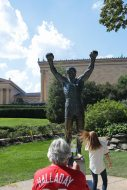 Rocky Balboa - it made Philly famous