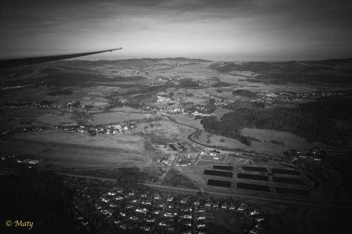 Airfield of Aeoroklub Jeleniogorski from above
