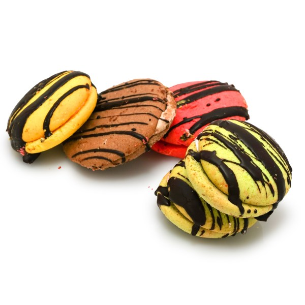 FANCY THREE COLOR COOKIES – WHOLESALE