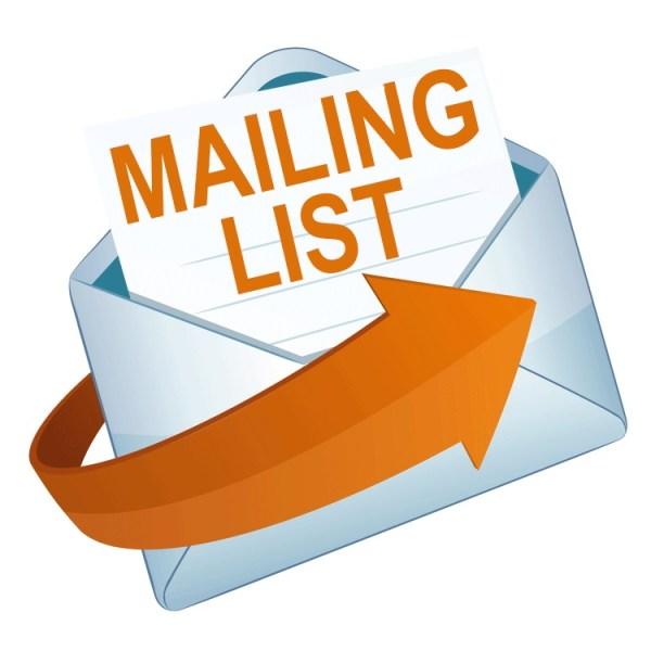 Mailing list service