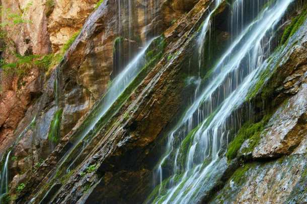 Klamm Wasserfalls Berchtesgadener Land