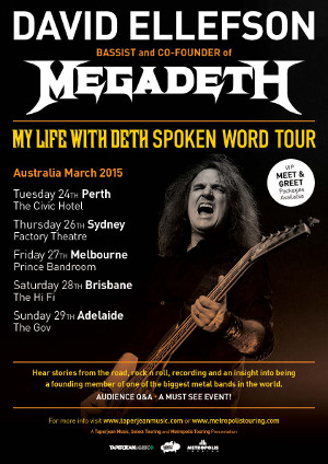My Life With Deth: Spoken Word Tour