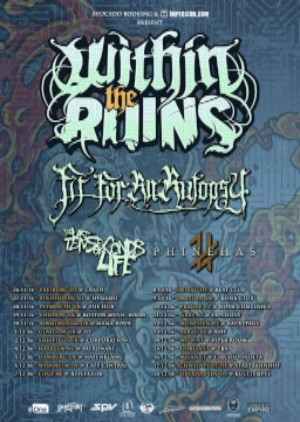 Within the Ruins European tour 2016