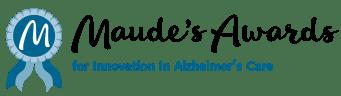 Maude's Awards for Innovation in Alzheimer's Care logo