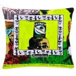 lime green cushion cover