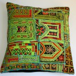 hand embroidered floor cushion
