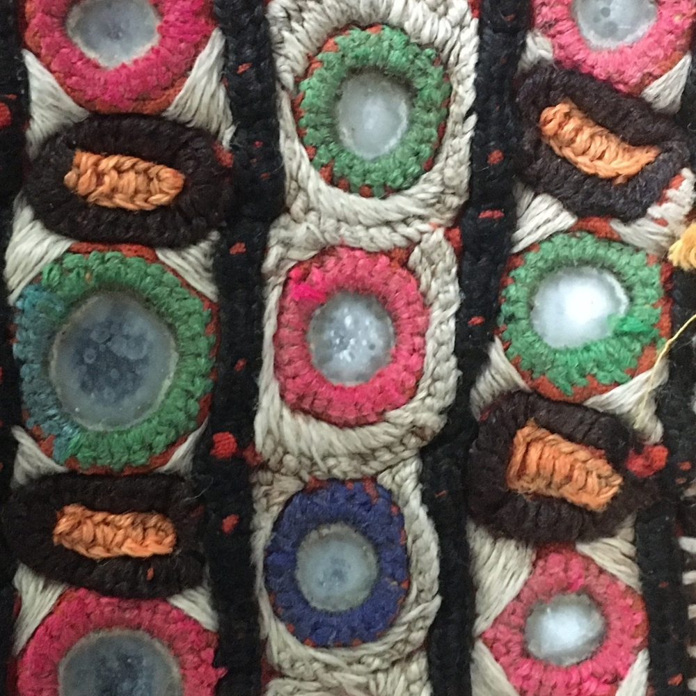 tribal embroidery