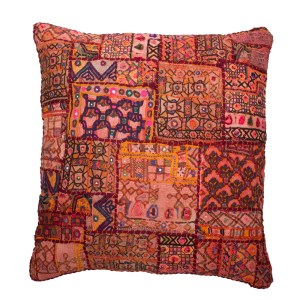 embroidered floor cushion