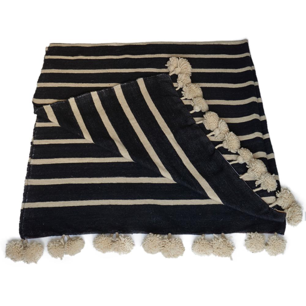 berber pom pom blankets