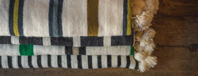 moroccan pom pom blankets maud interiors