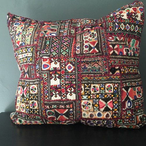 tribal indian embroidery