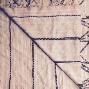 reverse of wedding blanket Aya