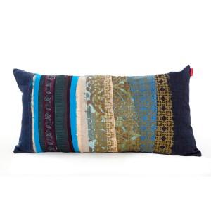Patchwork cushion Laila