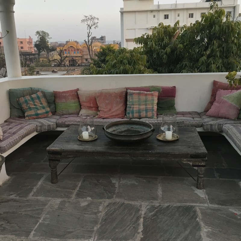 the roof terrace hotel 47 Jobner Bagh