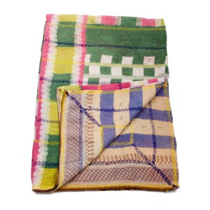 indian vintage kantha blanket farzhuna