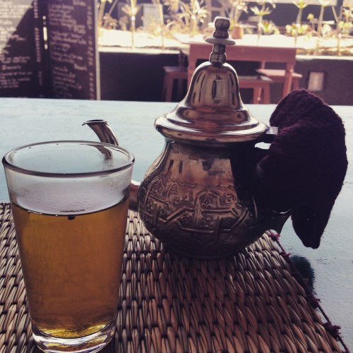 Mint tea Marrakech