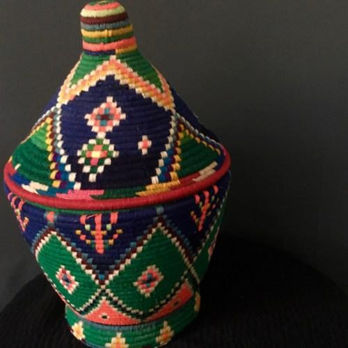 vintage berber basket