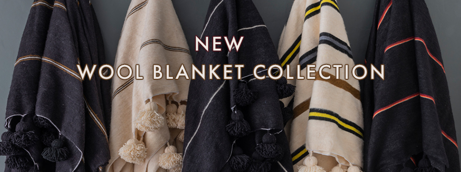 Wool blanket collection