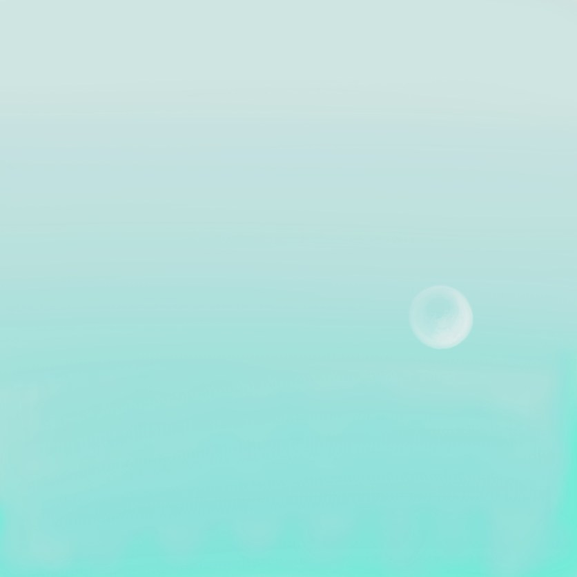 BUBBLE MOON, 2018, variable dimension