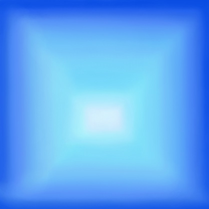 SPACELESS BLUE, 2018, variable dimension