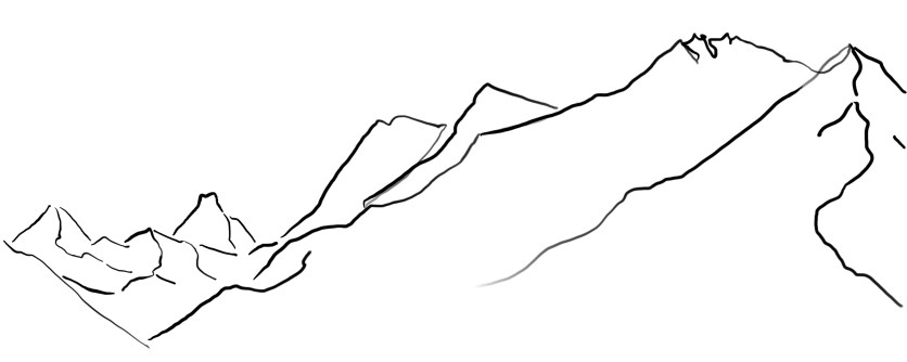 LIFE LINES, 2020, digital drawing printed on fine arts paper, variable dimensions.