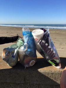 Collecte RUN ECO ocean beach