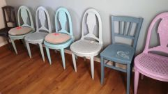 LOT CHAISES BIS