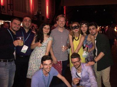 wordcamp europe viena 2016 wceuball after party matt mullenweg
