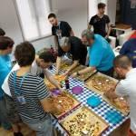 Almuerzo en el Contributor Day de la WordCamp Sevilla 2016