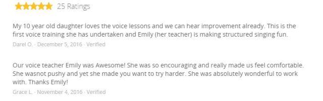 Groupon reviews Emily