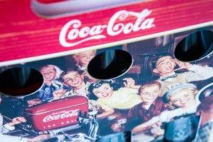 コカ・コーラ100周年デザインボトル