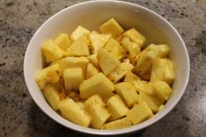lilikoi pineapple salad