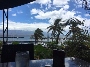Maui lunch