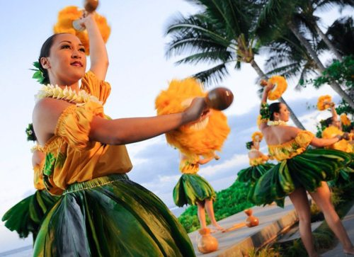 Feast At Lele Maui Luau - Hawaiian luau dancers
