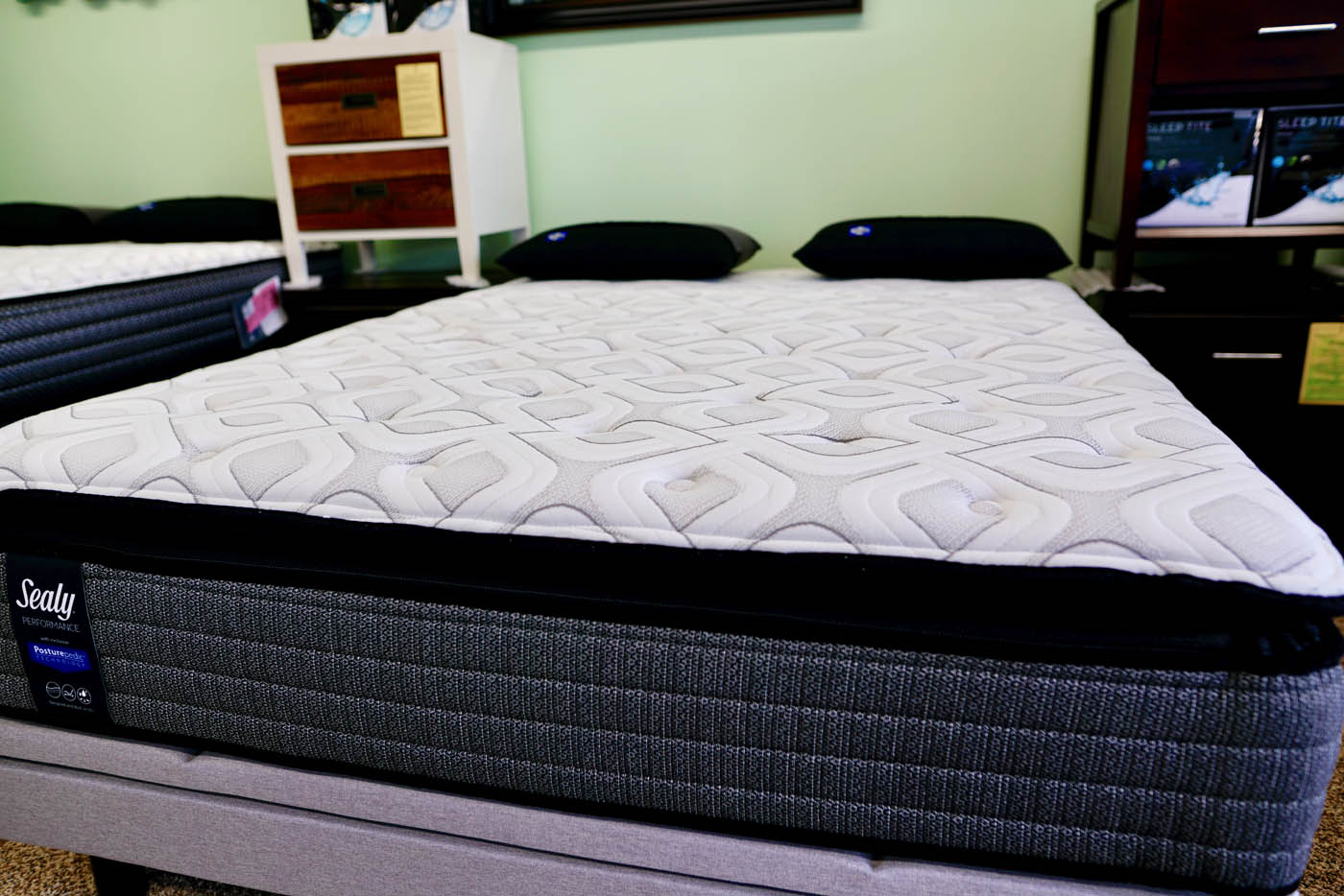 sealy traditional cushion firm pillow top