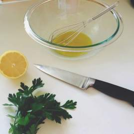 lemon parsley dressing