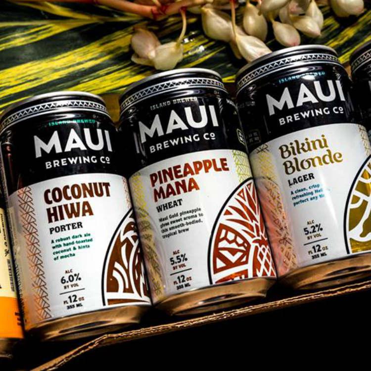 happy hour at maui brew co kihei hawaii