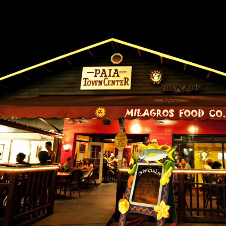 happy hour at milagros paia maui - maui happy hours